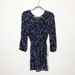 Anthropologie Floral Silk Tunic Top by Fei Size 12